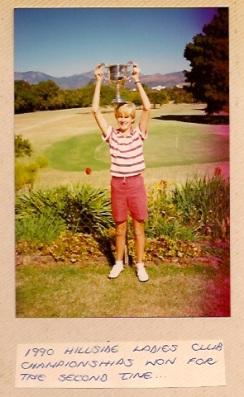 Early golf win