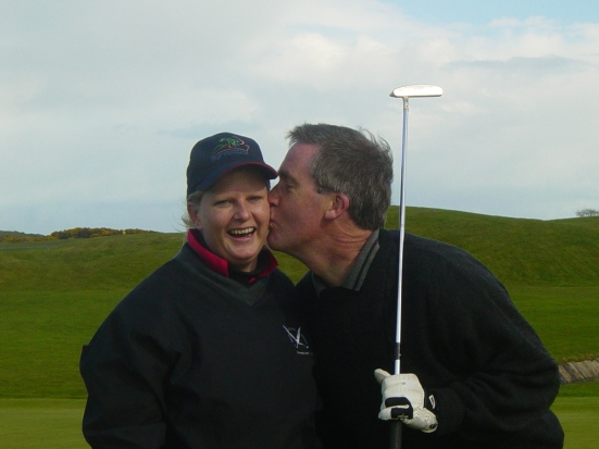 My golf partner, the lovely Keith Ging