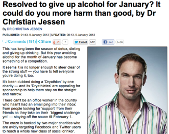 Daily Mail's Dr Christian Jessen