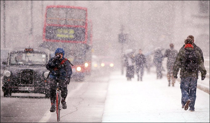 London's Big Freeze