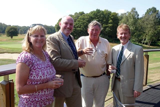 Hayley Barlow (40), Ian Woods (50), Stephen Killick (60) & Chester Stern (70)