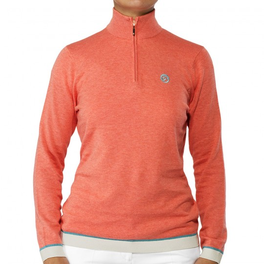 LADIES BEAUMONT GOLF SWEATER 2